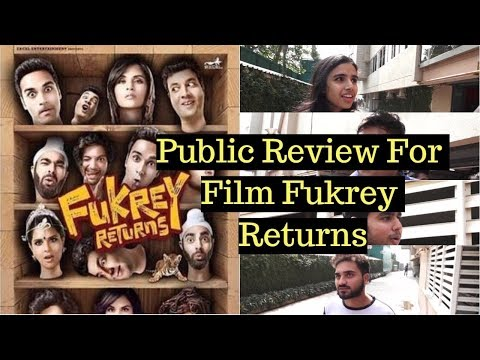 Pulkit | Varun | Manjot | Richa Chadda | Public Review | Film | Fukrey Returns