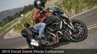 9. 2013 Ducati Diavel Strada vs Triumph Rocket III - MotoUSA