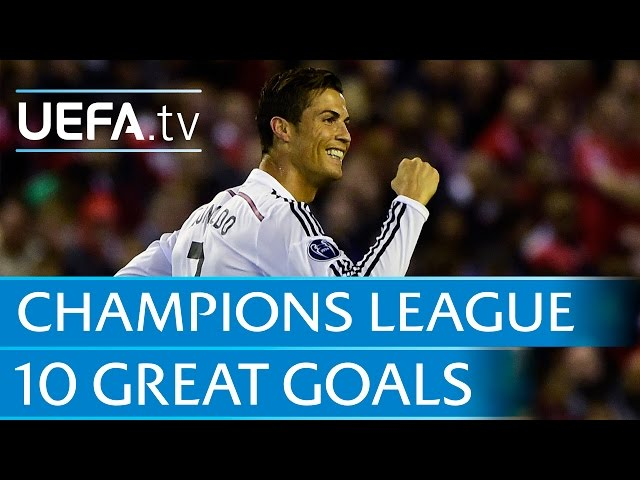 10 Great Goals From The 2014 15 Uefa Champions League ...