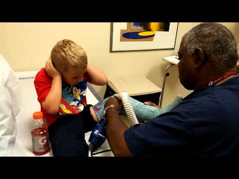 cast - Nothing crazy -- just my son getting his cast off and taking us all by surprise.