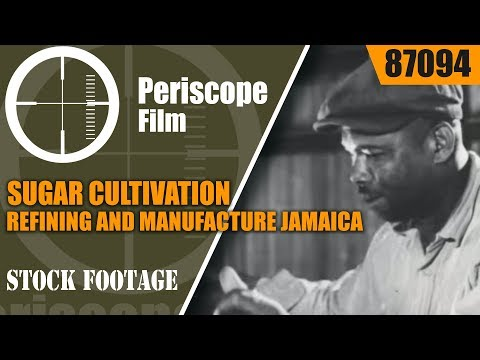 SUGAR CULTIVATION, REFINING AND MANUFACTURE JAMAICA & UNITED KINGDOM 87094