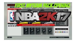 Opening my first MyTeam packs hoping for luck. Please like and subscribe for more videos of myteam and mypark. nba 2k17, nba 2k17 chris smoove, chris smoove,...