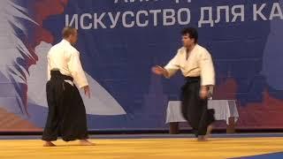 Показательные выступления Дмитрия Черняева на фестивале