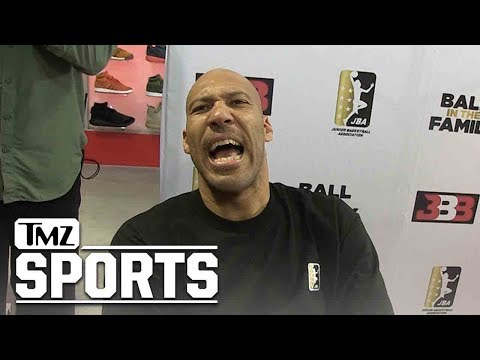 LaVar Ball Stoked About LeBron James, Lakers Will Destroy Warriors!   TMZ Sports