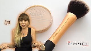 Rimmel London Stay Matte Pudra İnceleme | Özde