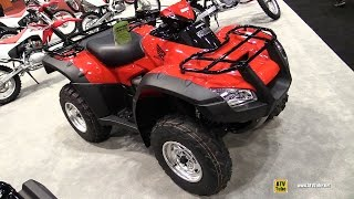 9. 2017 Honda Rincon TRX680FA Recreational ATV - Walkaround - 2016 EIMExpo Orlando