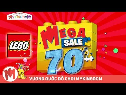 QUẢNG CÁO LEGO MEGA SALE 2019 - NGÀY HỘI KHUYẾN MÃI CỰC KHỦNG GIẢM ĐẾN 70%