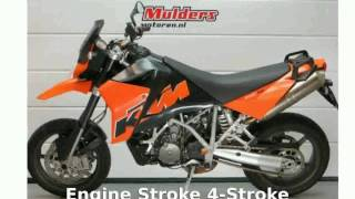 2. 2006 KTM 950 Supermoto Orange - Walkaround