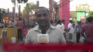 KarkyBava at Kadikhara Manithargal Movie Shooting Spot