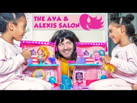 TWINS OPEN HAIR SALON, WILL THEY HIRE DAD?
