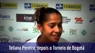 Teliana Pereira busca manter boa fase no Brasil Tennis Cup