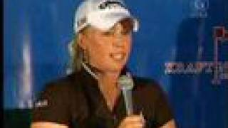 Morgan Pressel The Jump in the Lake