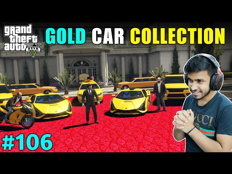 LESTER IMPORTED EXPENSIVE GOLD CARS   GTA V GAMEPLAY #106