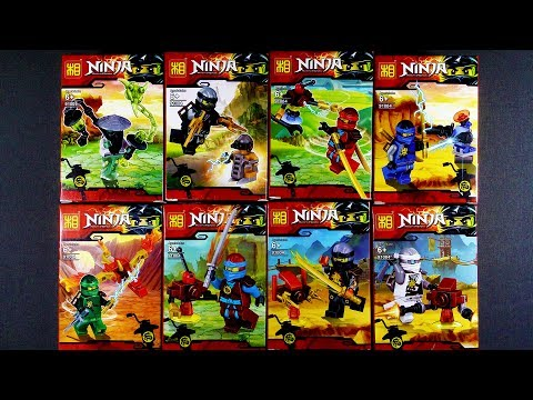 LEGO Ninjago Possession Ghost Warriors (bootleg / knock-off) Sheng ...