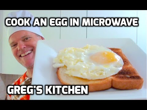 HOW TO COOK AN EGG IN THE MICROWAVE - Greg's Kitchen