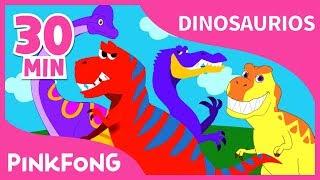 Video Las Mejores Canciones de Dinosaurios | +Recopilación completa | Pinkfong Canciones Infantiles MP3, 3GP, MP4, WEBM, AVI, FLV Agustus 2018