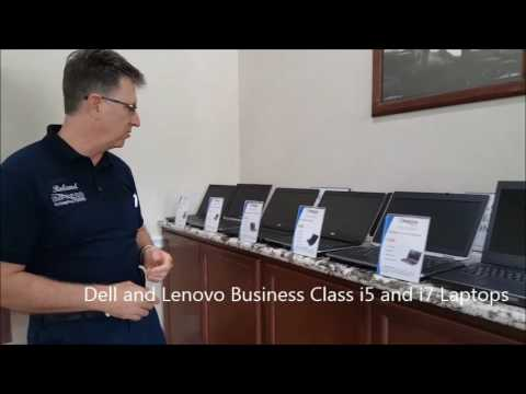 Dell HP and Lenovo Refurb Laptops available from Impress Computers in Katy TX