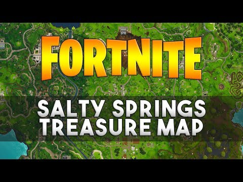 follow the treasure map found in salty springs fortnite week 3 challenge - fortnite treasure map in salty springs