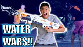 The Ireland Boys pranked their friends with an Epic Water Gun Prank! We used the best super soaker water gun we had.