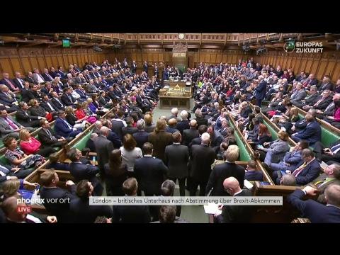 Brexit-Debatte und Abstimmung im britischen Unterhaus ...