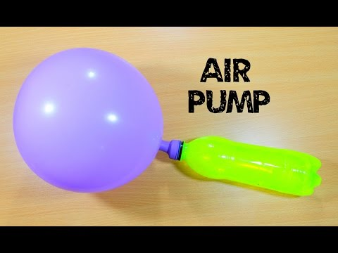 How to Make Air Pump using Bottle - Bottle Life Hacks