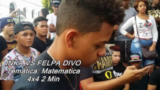 Inka vs Felpa Divo 1era Ronda Batalla de Freestyle ((Clasificatoria)) Video