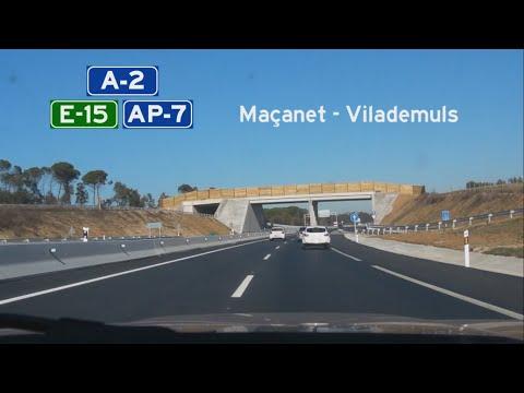 [E] A-2+AP-7 Maçanet de la Selva - Vilademuls