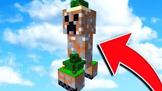 Video SURVIVING ON A CREEPER IN MINECRAFT! MP3, 3GP, MP4, WEBM, AVI, FLV November 2018