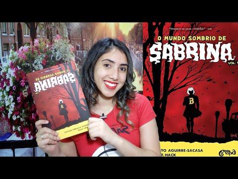 ☠�O Mundo Sombrio de Sabrina   HQ RESENHA   Leticia Ferfer   Livro Livro Meu