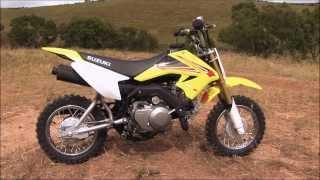 6. MXTV Bike Review - Suzuki DR-Z 70