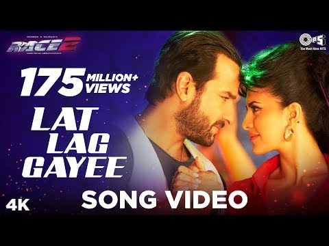 SONG - Get addicted to the sensual groove of Lat Lag Gayee featuring the smoking hot n sexy Jacqueline & Saif Ali Khan from