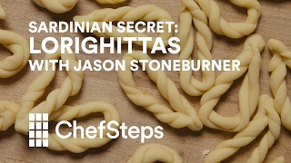 Jason Stoneburner, pasta expert extraordinaire, dough-rolling aficionado, and chef/owner of one of our favorite Seattle restaurants, Stoneburner, shows us how simple it can be to make this gorgeous braided pasta in your own kitchen. http://chfstps.co/2ky4MasYou're passionate about cooking. We're here to help.Become a member and be the first to learn about new recipes, special offers, and goings-on around the kitchen: http://chfstps.co/1paXXVdAnd while you're at it...Like us on Facebook: http://chfstps.co/1thBubbFollow us on Instagram: http://chfstps.co/1nDs8Fj Tweet with us: http://chfstps.co/1gMVbWAGet Pin-spired: http://chfstps.co/1koB9kIRead our blog: http://chfstps.co/1rhTgh0