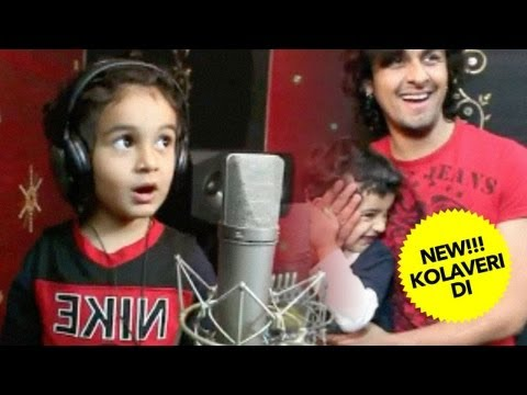 Kolaveri - Introducing ace Bollywood singer Sonu Nigam's son Nevaan Nigam in the kid version of 'Kolaveri Di'. Nevaan's song is a MILK song, where he's asking for Milk!...