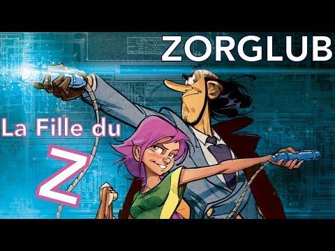 ZORGLUB T1 - LA FILLE DU Z - MUNUERA - TT 300 EX N/S - NEUF
