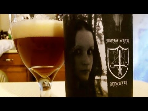 Hot Heathen Honey HOME BREW / Wolf's Lair Brewery (PABrewNews) DJs BrewTube Beer Review #411