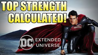 How Strong is the DCEU Superman?