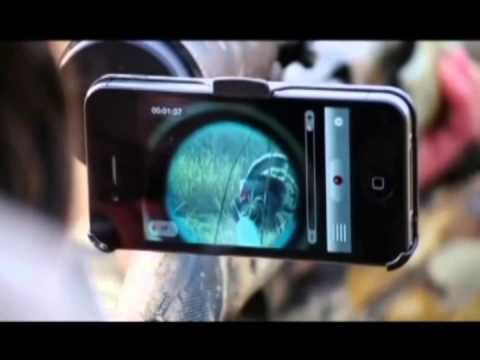 Le iScope: Un adaptateur de téléscope pour téléphone mobile iPhone
