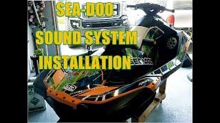 3. Seadoo Spark Kicker Sound System Installation