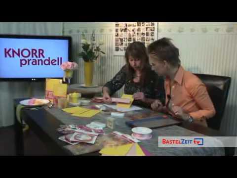Bastelzeit TV 30 - Grußkarten zur Geburt und Taufe