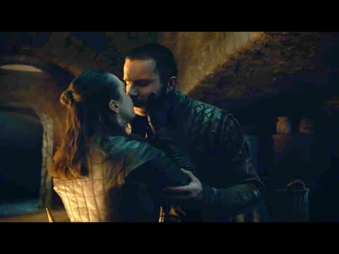 Game of Thrones 8x04 Arya and Gendry kiss Scene | Arya tells Gendry she will not be Lady