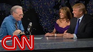 Video Donald and Melania Trump as newlyweds (2005 CNN Larry King Live full interview) MP3, 3GP, MP4, WEBM, AVI, FLV Juli 2018