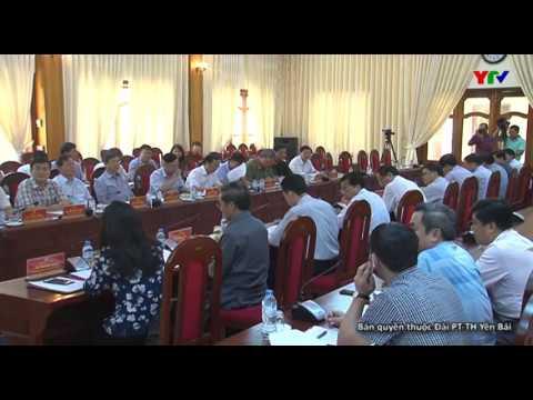 Đồng chí Võ Văn Thưởng Trưởng Ban Tuyên giáo TW làm việc tại tỉnh Yên Bái