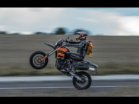 #12 | Wheelies DRZ400 & KTM LC4 640 / Intermot 2016 / Motorcycle Group Hessen / Street Race