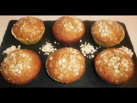 Imagen de: muffins integrales de aven…