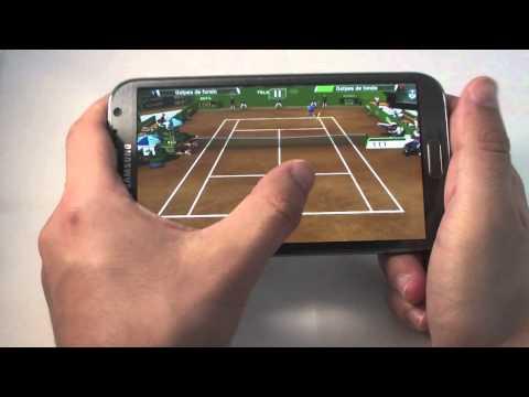 Media hora de juegos en Galaxy Note 2