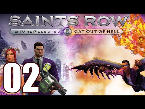 saints row gat out of hell pc gameplay