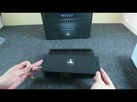 Unboxing En Vivo Del Amplificador JL Audio RD400/4