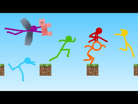 Parkour - Animation vs. Minecraft Shorts Ep. 22