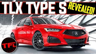 The New 2021 Acura TLX Type S Brings Supercar Tech To a Sports Sedan: Here's What You Need To Know! by The Fast Lane Car