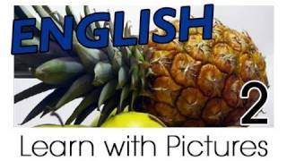 English Fruit Vocabulary, Learn English Vocabulary With Pictures